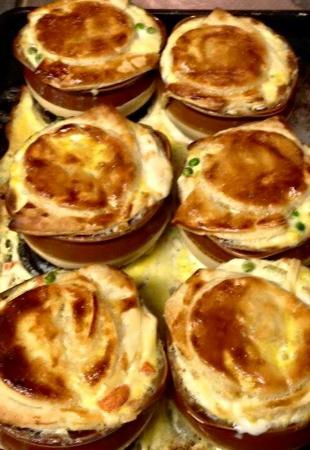 Margaretville, estado de Nueva York: Chicken pot pie comfort food Daily specials !