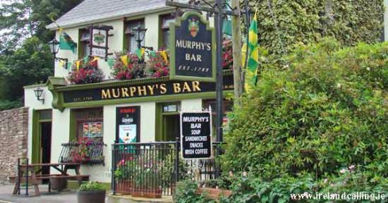 Boolteens, Irland: Murphy's Bar - Great Sporting Bar