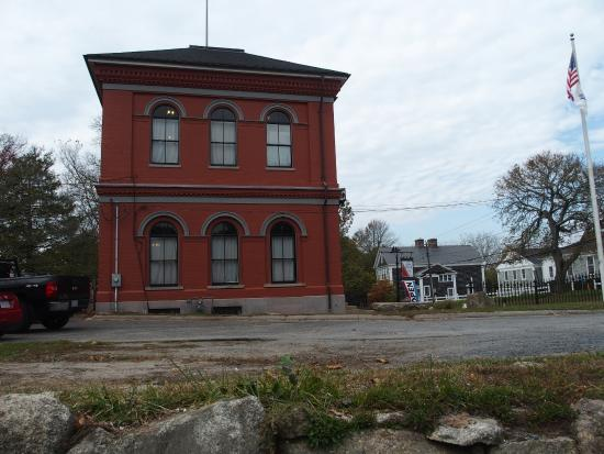 Barnstable, MA: The museum building