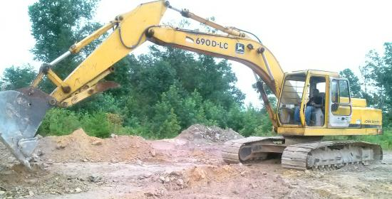 Morganton, GA: playing in the dirt