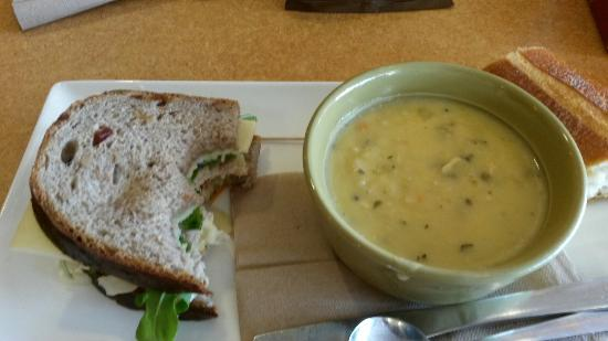 Photo of Cafe Panera Bread at 2510 W University Drive, Denton, TX 76201, United States
