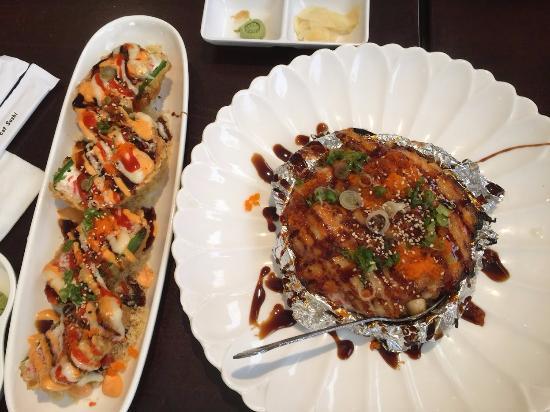 Miyagi's Sushi: My buffet