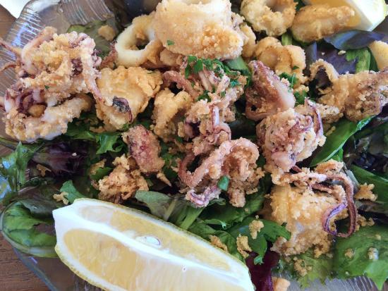Goleta, Kaliforniya: Best calamari EVER.