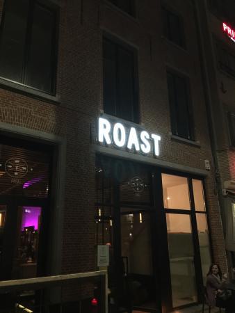 De Roast, leuk en lekker!