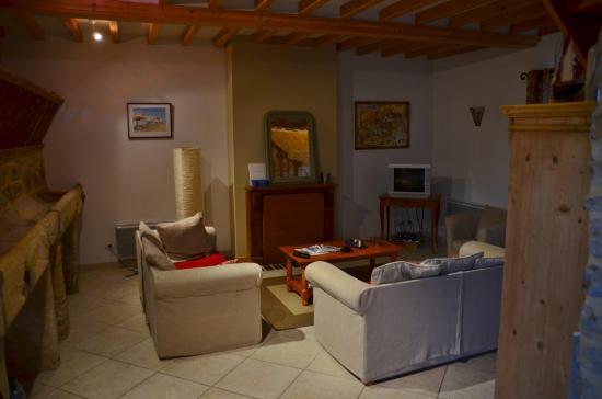 Les Chaufourniers : Wohnzimmer