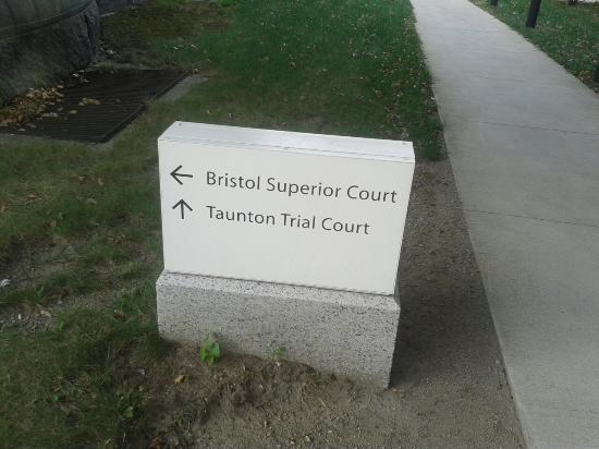 Bristol County Court House: Bristol Superior court house on the Taunton Green