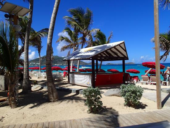 Kontiki View From The Sofas Kontiki Bar Overlooking Orient Beach