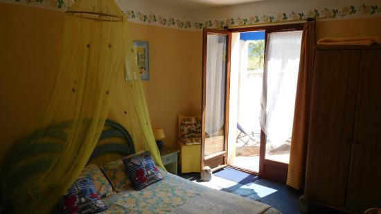 Le Castel Enchante : Vores værelse