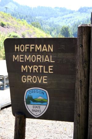 Myrtle Point, OR: Hoffman Wayside