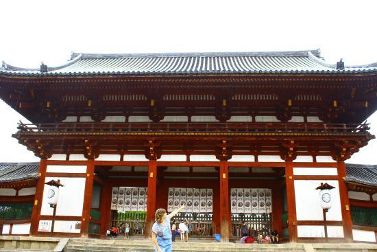 Nara Park Near Todaiji Temple - Picture of Nara Park, Nara ...