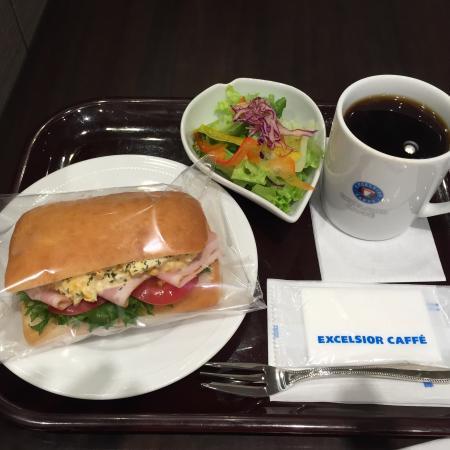 Excelsior Cafe Kichijoji Sun Road: ベーコンタマゴサラダ