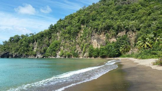 Anse La Raye, Sta. Lucía: Roseau Beach