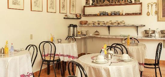 Hotel Casablanca : Sala de café - delicioso café da manhã