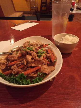 Chaang Thai: Good ginger chicken