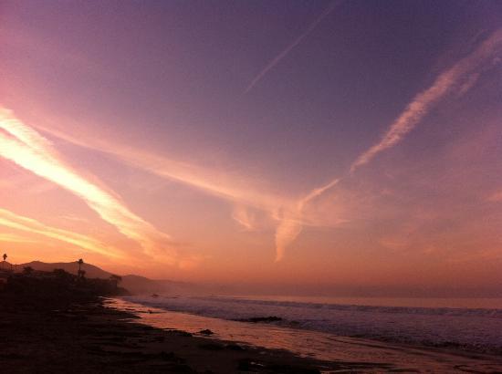 Cayucos Beach Inn: good morning