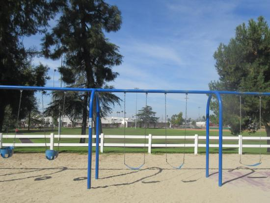 Children's Swing Set Area, Rosemad Park, Rosemead, Ca
