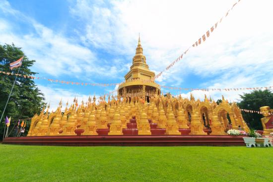 Kaeng Khoi, Thailand: เจดีย์ 500 ยอด