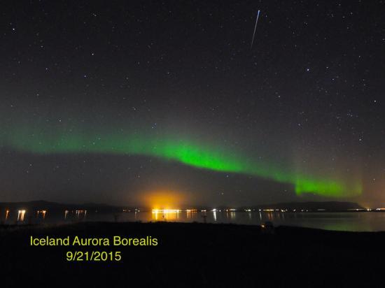 Aurora Travel: Aurora Borealis in Iceland 09/21/2015