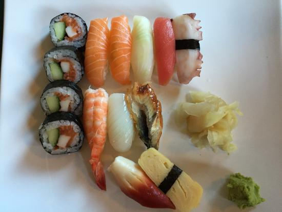 sushi bar kyoto ludvika meny