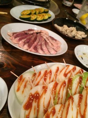 Variety meat ( Horumonyaki) Honpo Shimbashi