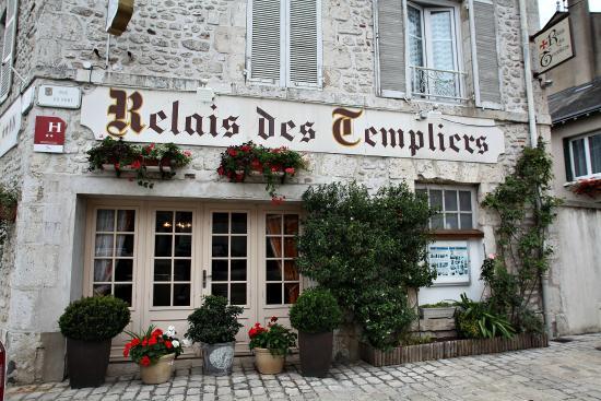 Le Relais des Templiers : facade