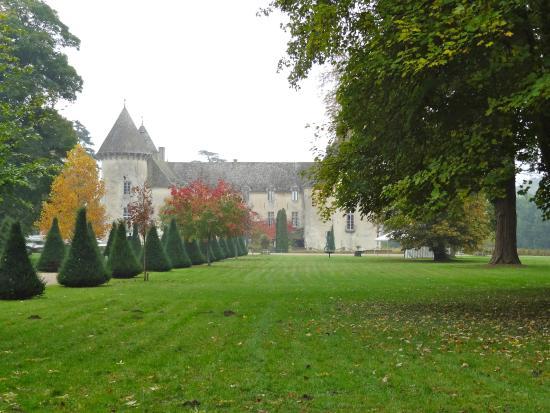 parc du ch teau picture of chateau de savigny les beaune savigny les beaune tripadvisor. Black Bedroom Furniture Sets. Home Design Ideas