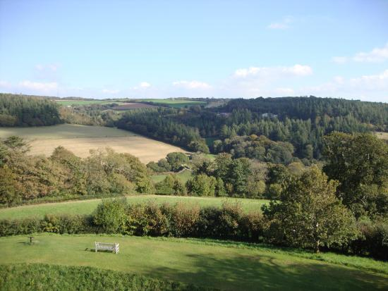 Restormel Castle: View from top