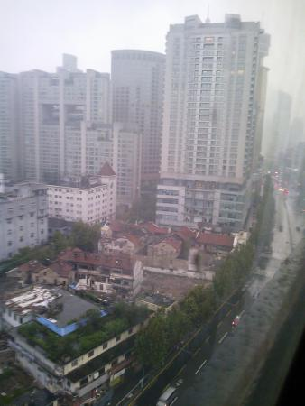 Magnificent International Plaza Hotel: Scene for old city from the room