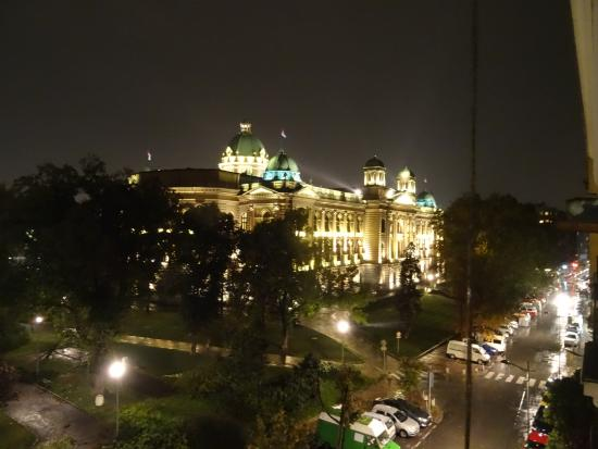 Hostel Parliament: View from the balcony