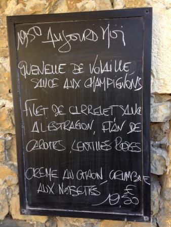 Restaurant Margot, Mirmande 24 Sept 2015