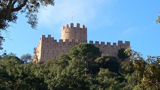 Santa Coloma de Farners, İspanya: Castell de Farners