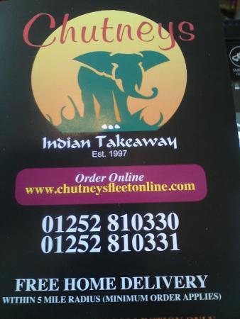Chutneys Indian Takeaway