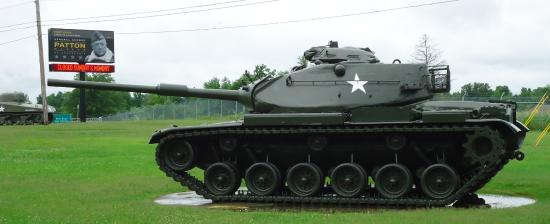Fort Knox, KY: M47 Patton