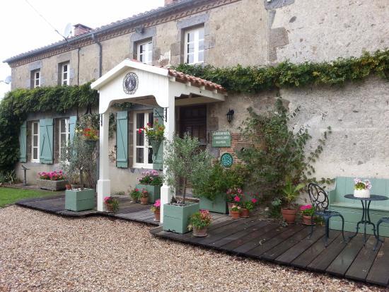 front of La Maison Verte