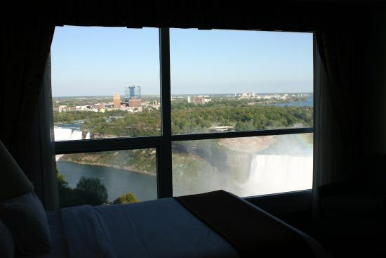 Emby Suites By Hilton Niagara Falls Fallsview Hotel 18th Floor Room View