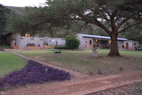 Louis Trichardt, Νότια Αφρική: Hotel grounds and rooms