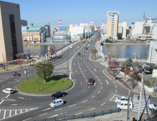 ロータリー交差点 - 釧路市、幣...