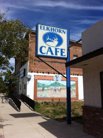 Elkhorn Cafe & Supper Club: Elkhorn Cafe in Boulder Montana
