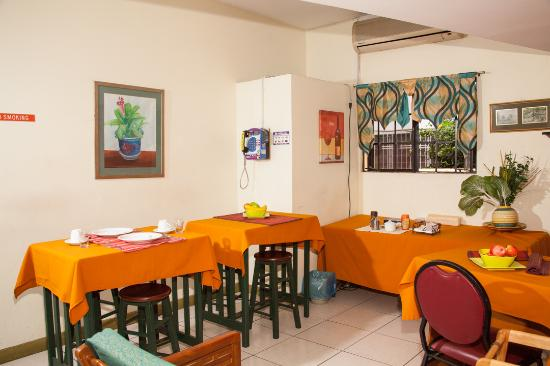 Woodbrook, Trinidad: Dining area