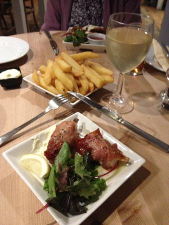 The Grainstore: Monk Fish, Goujons and Chips