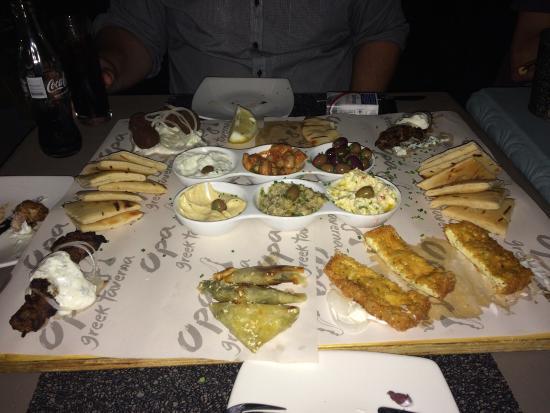 Opa Greek Taverna: Good food.
