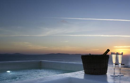 Rocabella Mykonos Art Hotel & SPA: Panoramic Suite Plunge Pool