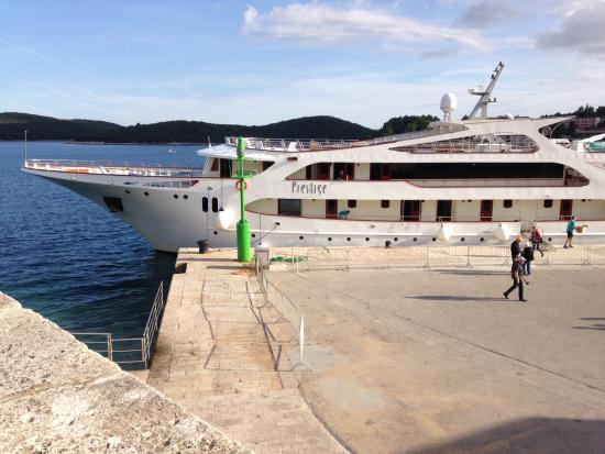 Our Ship The Prestige Picture Of Adriatic Coast