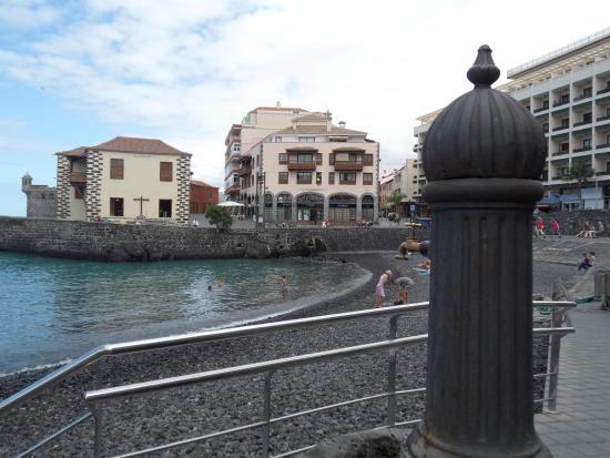 La Quinta Park Suites: Mały port w Puerto de la Cruz