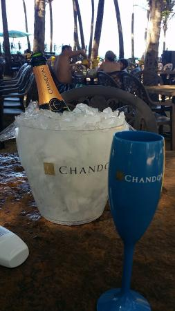 Chandon Bubble Lounge Beach Park