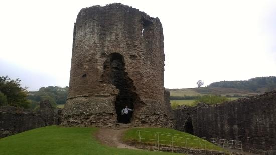 Skenfrith, UK: The Keep inside