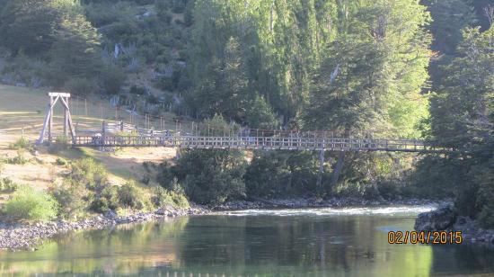 Casa de Campo Lago Espolon: Vista desde la Cabaña