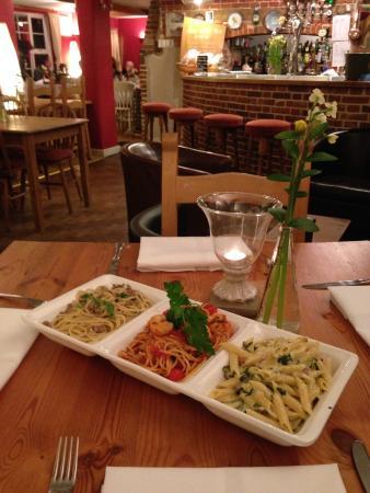 The Olive Tree: Friday night trio of pastas
