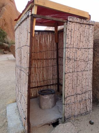 long drop toilet picture of spitzkoppe damaraland. Black Bedroom Furniture Sets. Home Design Ideas