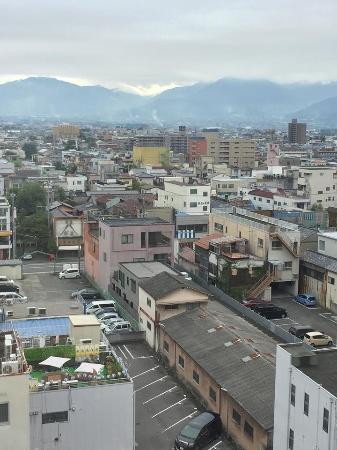 Dormy Inn Kofu : View from top floor room